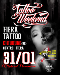 Tattoo Weekend Chiuduno Bergamo 2020