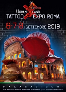 Urban Land Tattoo Expo Roma 2019