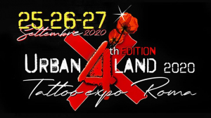 Urban Land Tattoo Expo Roma 2020